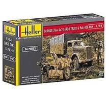 Heller - Opel Blitz & Pak 40