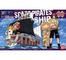 Bandai - One Piece spade pirate ship (0207583)