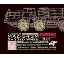 Meng - MAZ-543M roues
