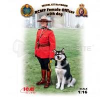 Icm - RCMP F Officier & dog