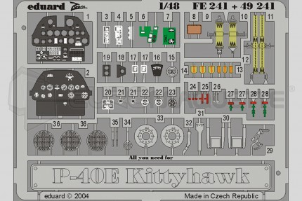 Eduard - P-40E Kittyhawk (amtech)