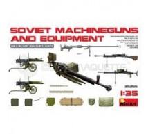 Miniart - Soviet MG set & equipements