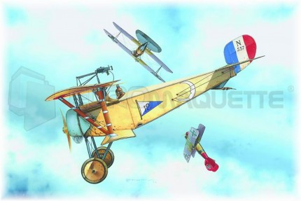 Eduard - Nieuport 11 (profipack)