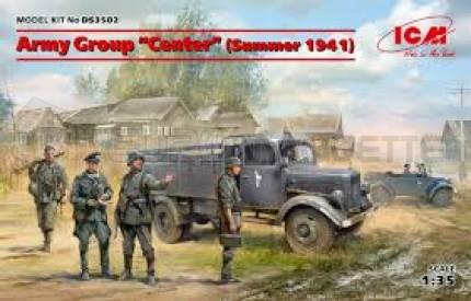 Icm - Coffret German army group Summer 1941
