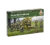 Italeri - Flak 37 & crew 1/56