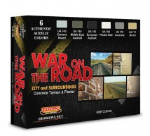 Life color - Coffret war on the road