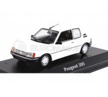 Minichamps - Peugeot 205 blanche 1990