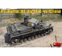 Miniart - Pz III Ausf B & crew