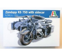 Italeri - Zundapp KS 750 side car