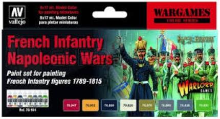 Vallejo - Coffret Napoleonic French infantry games (x8)