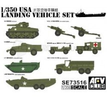 Afv club - US  WWII Vehicles 1/350