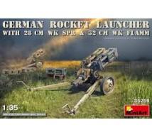 Miniart - German rocket launcher 28 & 32cm WK