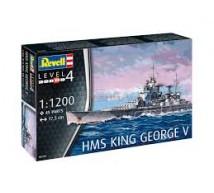 Revell - HMS King George V 1/1200