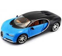 Burago - Bugatti Chiron bleue