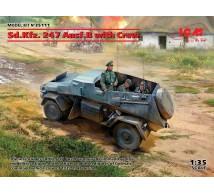 Icm - SdKfz 247 & Crew