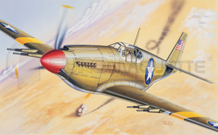 Italeri - P-51B Mustang