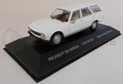 Odeon - Peugeot 504 break blanche