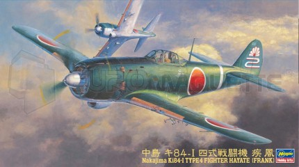 Hasegawa - Ki-84-I  Franck