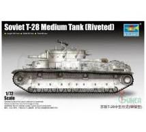 Trumpeter - Soviet T-28 riveted