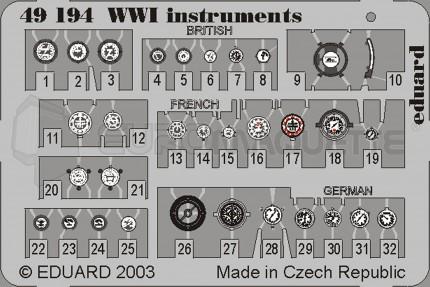 Eduard - WWI Instruments