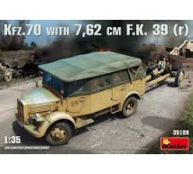 Miniart - Kfz 70 & FK 39 (r) 7,62 cm