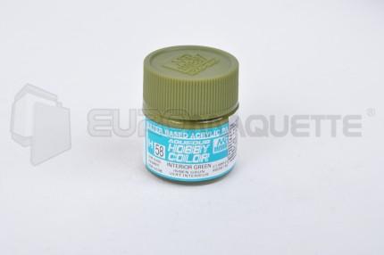 Gunze Sangyo - Vert Interieur H58 (pot 10ml)
