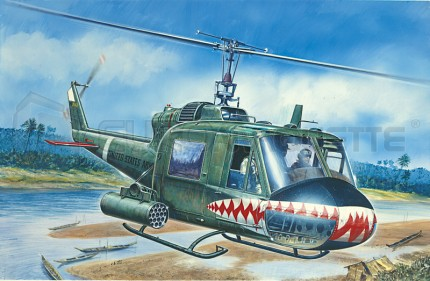 Italeri - Bell UH-1C Gunship