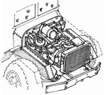 Cmk - Moteur de M-939 (italeri)