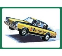 Amt - Plymouth Barracuda Hemi 66 Funny car