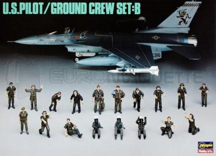 Hasegawa - Pilotes &  mécaniciens US