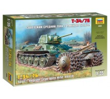Zvezda - T34/76  demineur