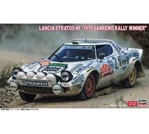 Hasegawa - Lancia Stratos San Remo 1979 winner