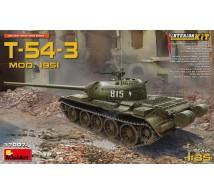 Miniart - T-54-3 mod 51 & interieur