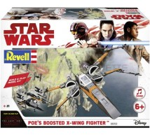 Revell - POE X wing fighter (Build & play)