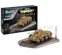 Revell - SdKfz 234/2 & diorama