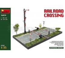 Miniart - Rail road crossing