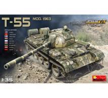 Miniart - T-55 mod 63 & interieur