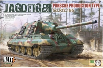 Takom - Blitz Jagdtiger Porsche Prod