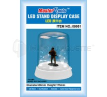 Trumpeter - Vitrine figurine 84x115mm &LED (RT)