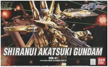 Bandai - HG Shiranui/Akatsuki Gundam Gold (0141041)