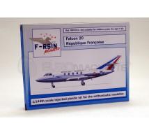 F Rsin - Falcon 20 Republique Française