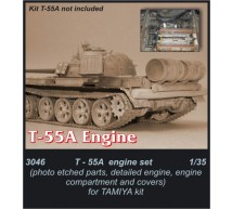 Cmk - Moteur de T-55 A  (tamiya)