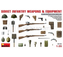 Miniart - Armes & equipements Russe WWII