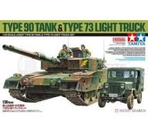 Tamiya - Combo JGSDF Type 90 & Type 73