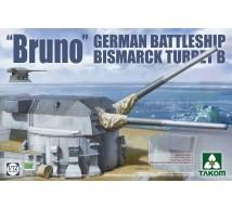 Takom - Bismack turret B Bruno
