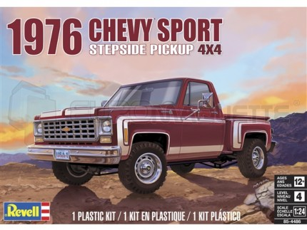 Revell - Chevy Pick Up Sport 4x4 1976