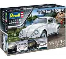 Revell - VW beetle 1950/51 & eclairage