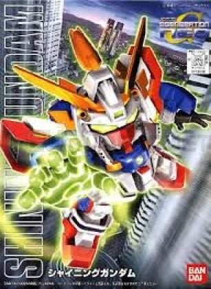 Bandai - SD Shining Gundam (5057414)