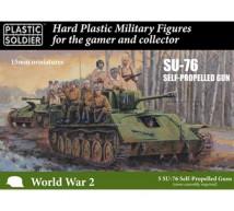 Plastic soldier - SU-76 SPG