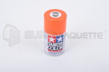 Tamiya - Orange Vif Brillant TS-31 (bombe 100ml)